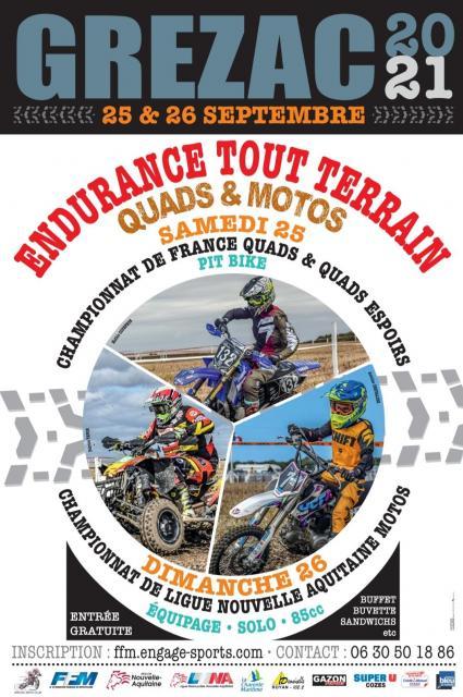 Affiche 2021 endurance tt